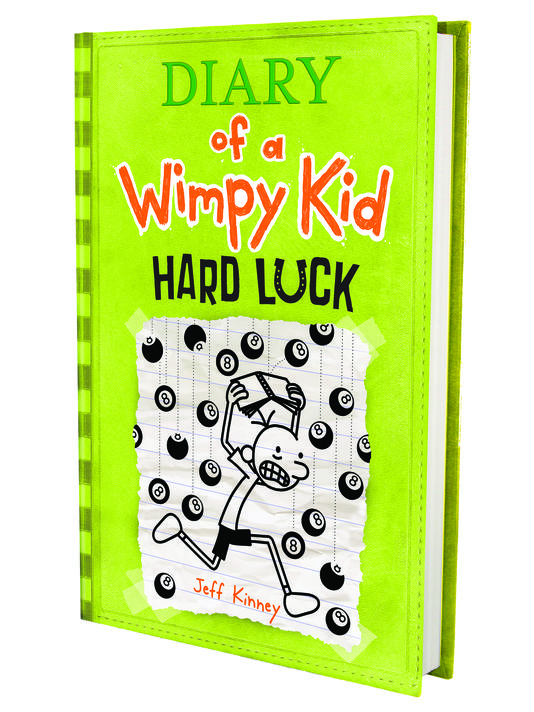 Of Luck 8 A Dairy Cover Wimpy And Hard Mishaps Adventures Revealed Kid