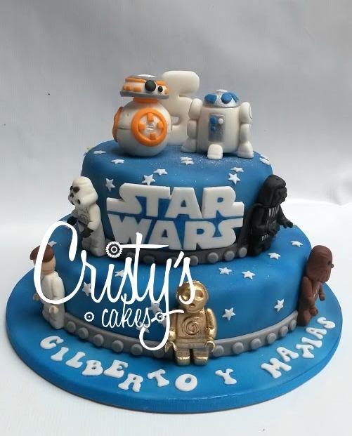 Conosciuto Cristy's Cakes: Star Wars para Gilberto y Matias JR75