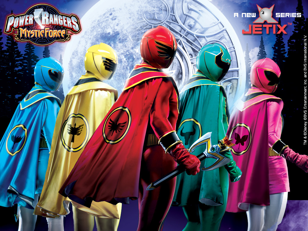 playpower rangers games