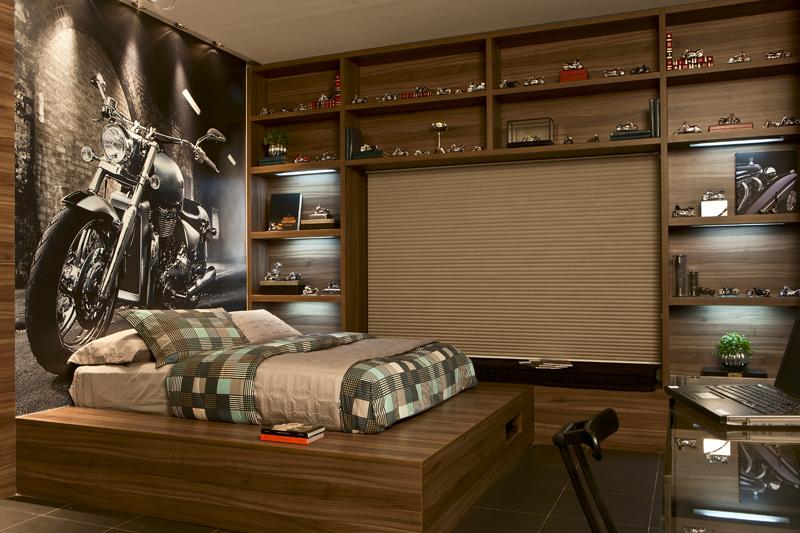decoracao de apartamentos pequenos para homens : decoracao de apartamentos pequenos para homens:Este é o meu quarto preferido. Pode até ser masculino, mas eu queria