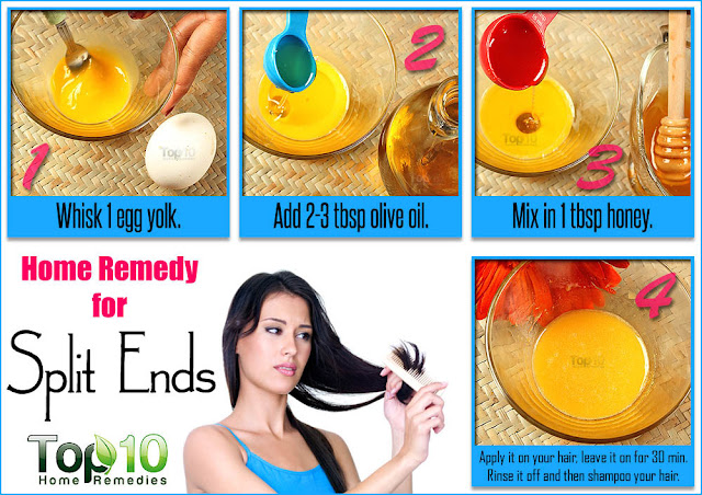 Home Remedies for Split Ends