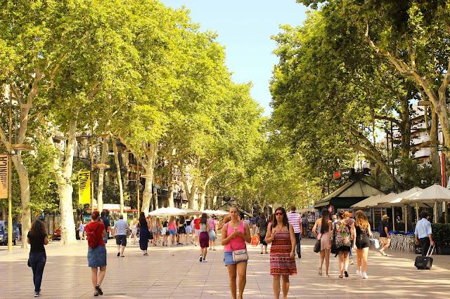 La Rambla | Barcelona | Chichi Mary Blog