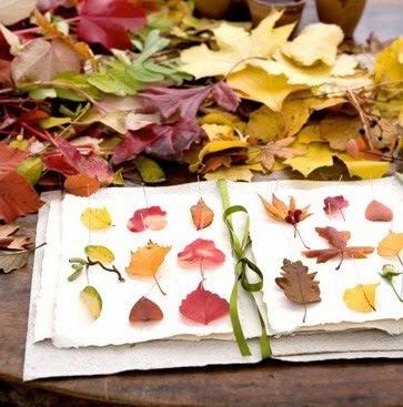 DIY Make a Leaf Book