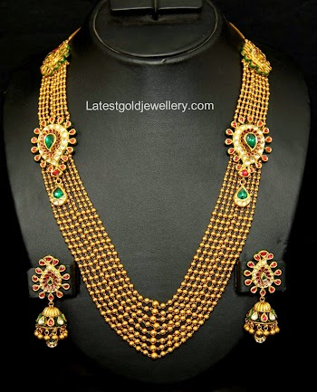 Latest Gold Jewellery Designs Antique Long Chains