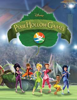 Campanilla y los Juegos de Pixie Hollow Poster