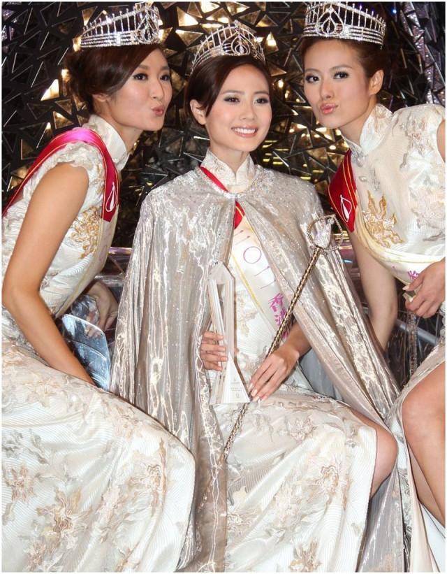 miss hong kong 2011 winner rebecca zhu