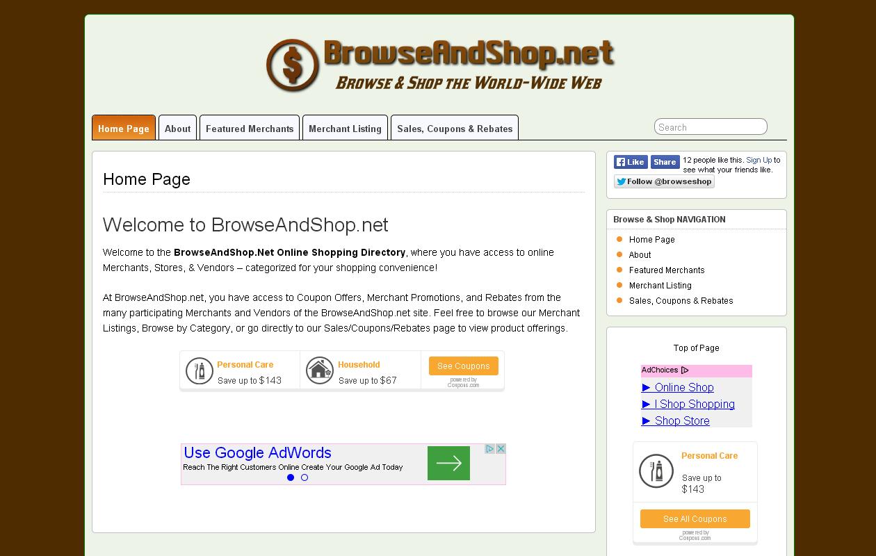 BrowseAndShop