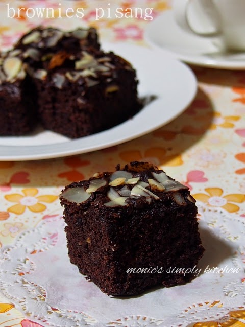 resep brownies pisang