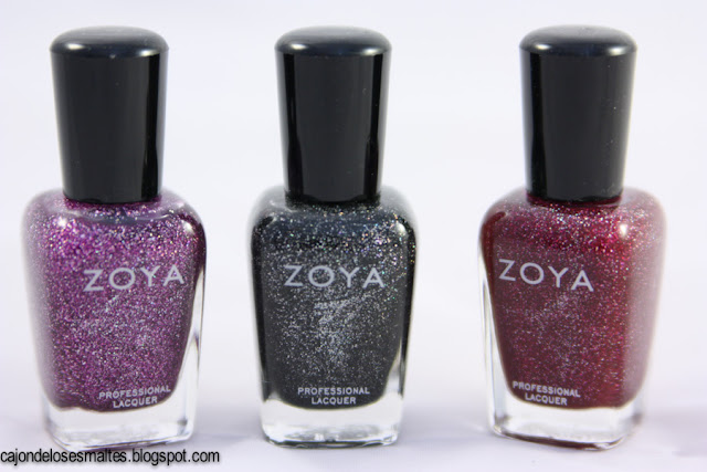 Zoya ornate collection - Aurora Blaze Storm