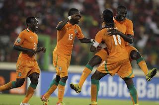 Semifinales de la Copa Africana de Naciones 2012