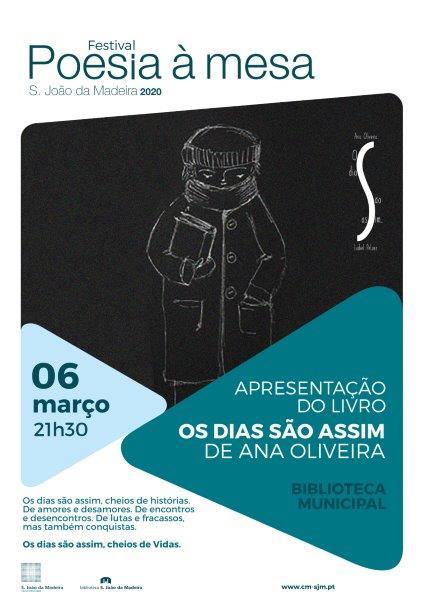"""Apresentação do livro """"Os dias são assim"""" de Ana Oliveira"""