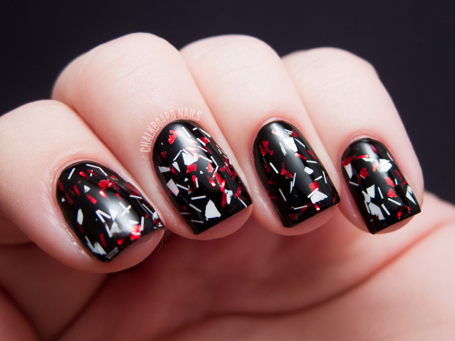 Different Dimension Santa Baby Collection | Chalkboard Nails | Nail ...