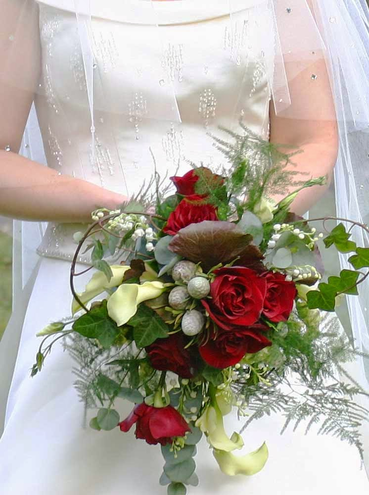 Red Wedding Flower Ideas For June Design Pictures hd