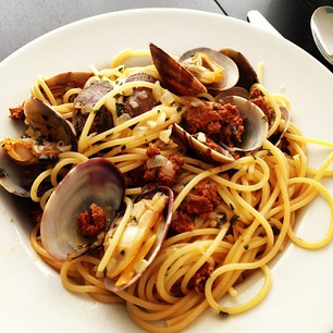 The Memorandum: Re Spaghetti with Clams and Chorizo