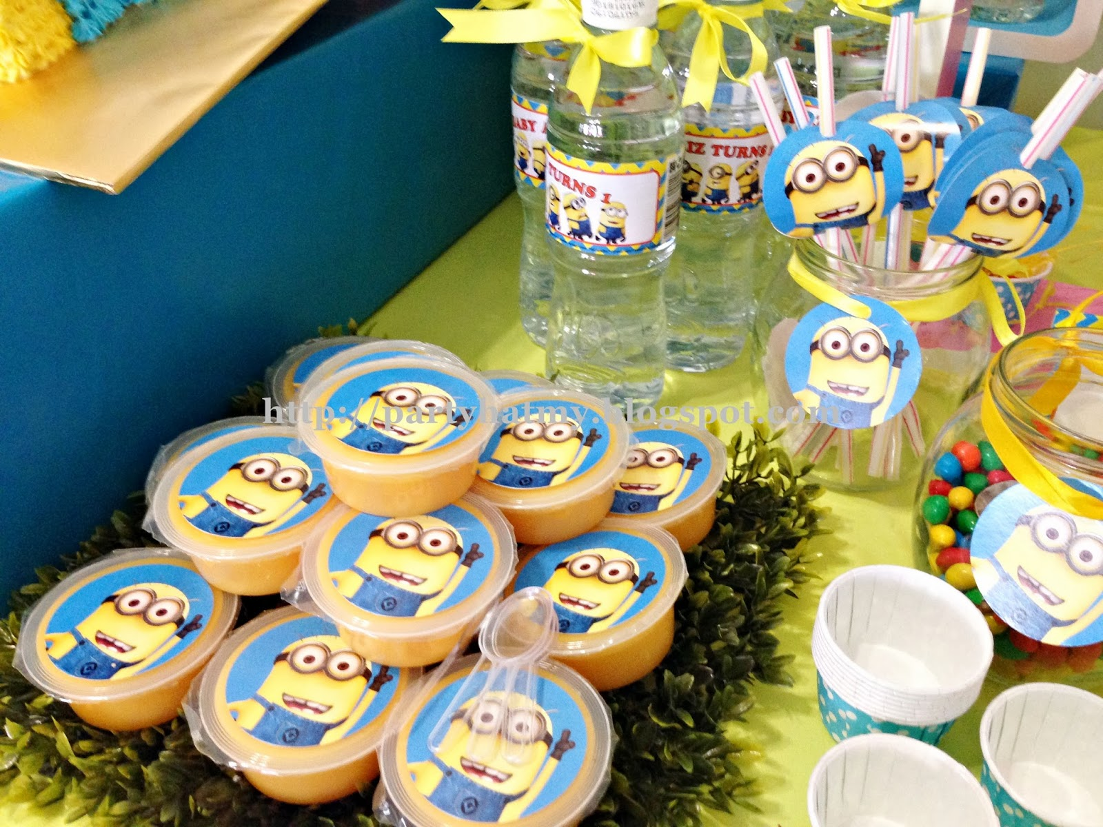 Party Hat: Minions 1st Birthday Party