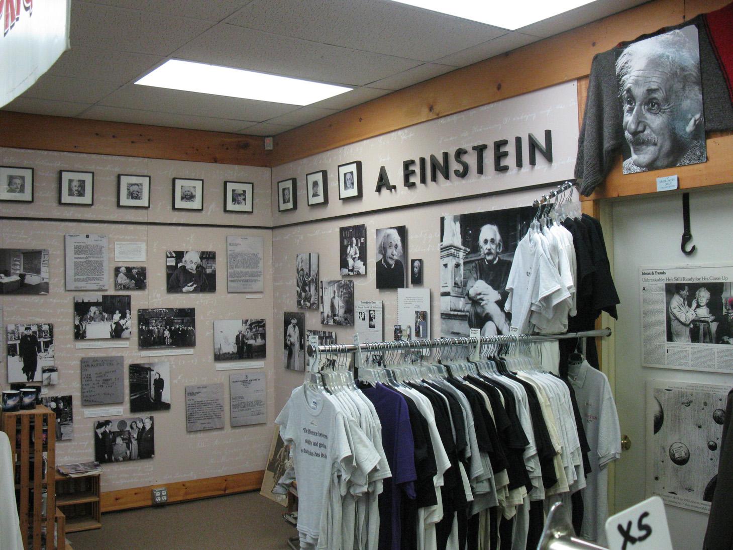 Albert Einstein Cluttered Desk Poster Albert Einstein