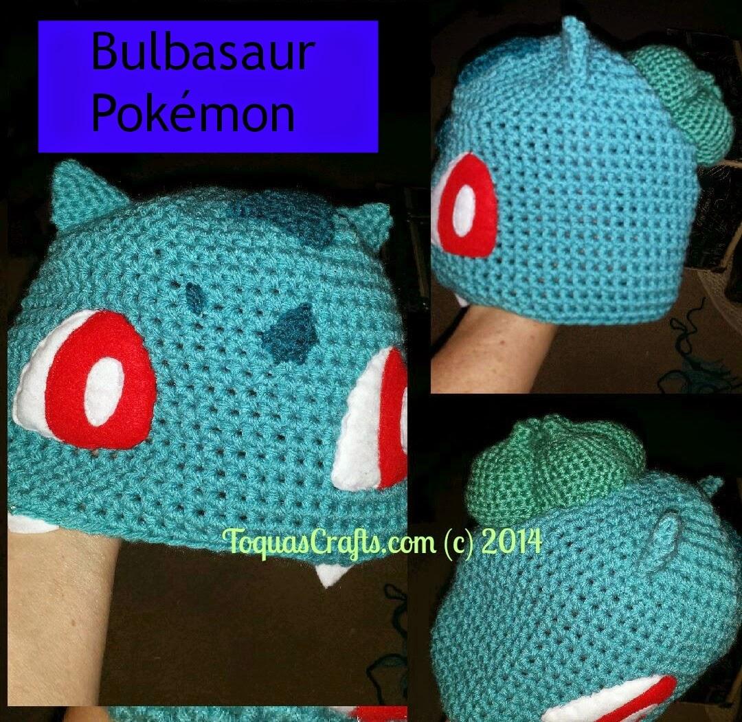 Toqua\'s Crafts: Bulbasaur (Pokémon) Free Pattern and Tutorial