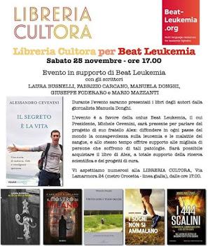 Libreria Cultora per Beat Leukemia
