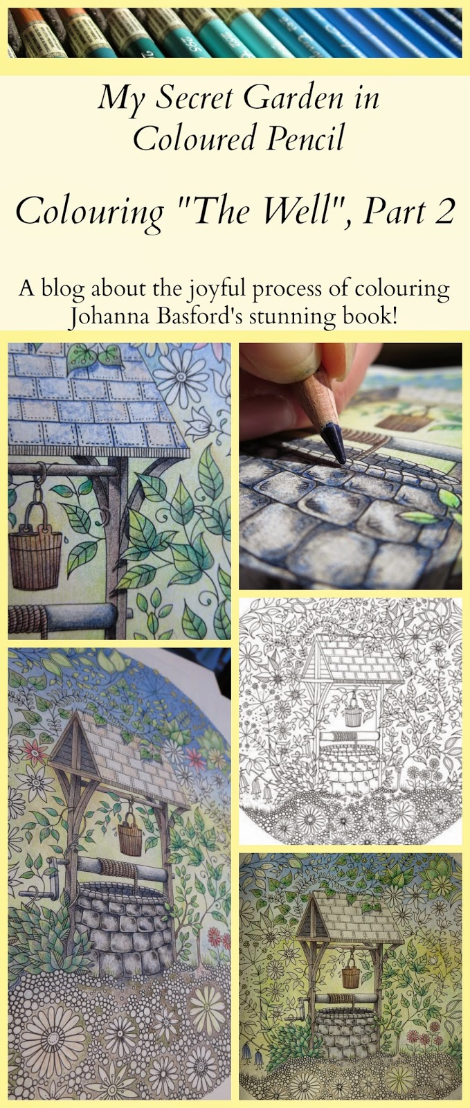 My Secret Garden Colouring Book The Well Part 2
