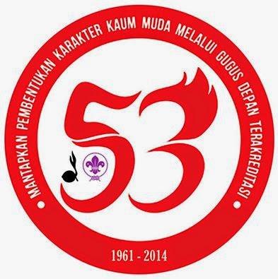 Logo Resmi Hari Pramuka ke-53 Tahun 2014