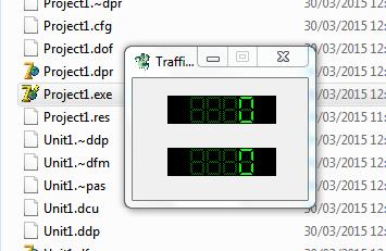 Cara Membuat Traffic Digital di Delphi 7