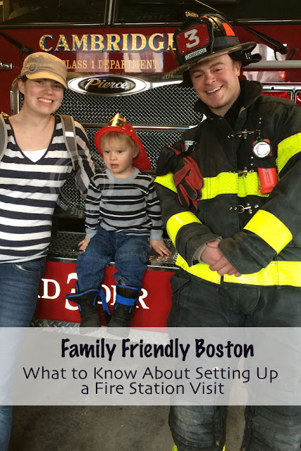 Family Friendly Boston – What to Know About Setting Up a Fire Station Visit