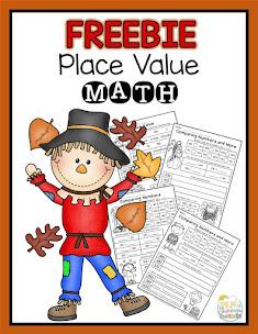 Fall Place Value Freebie