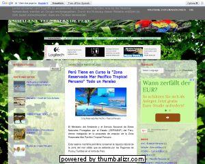 Animales y Plantas del Perú