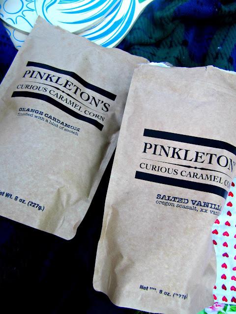 Pinkletons Curious Caramel Corn