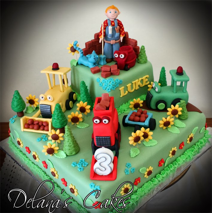 Delanas Cakes Bob the Builder Cake