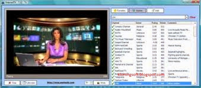 Free Download Software Internet TV (Watch TV Online)