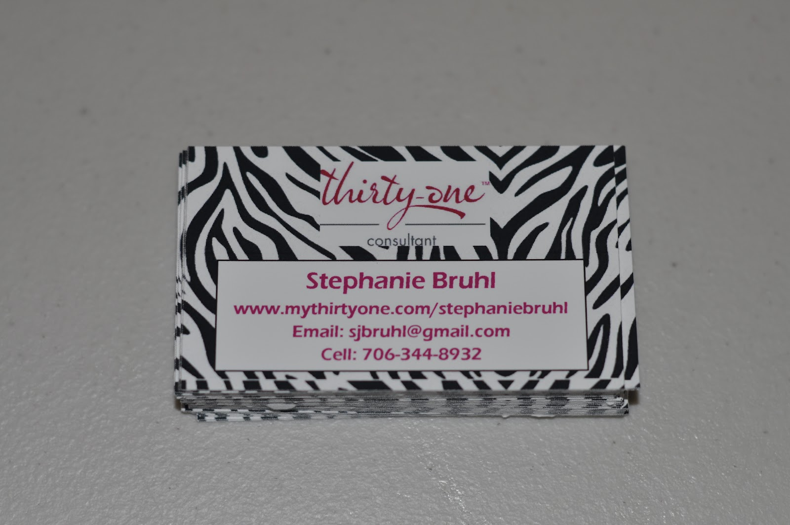 OCC: Obsessive Compulsive Crafting: 31 Consultant- business cards ...