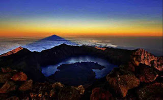 national park mt rinjani