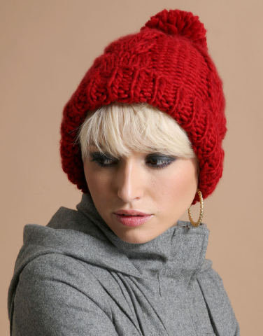Knit Hat Patterns Free Ladies : free knitting pattern: ladies knitted hat patterns