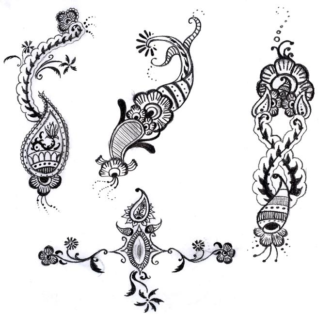 Arabic mehndi  Arabic Mehnadi designs for you  design of arabic mehndi    Arabic Mehendi Designs On Paper