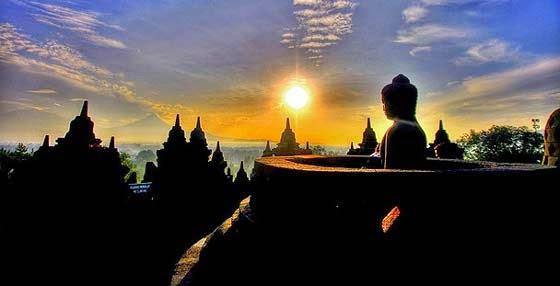 Candi Borobudur wisata favorit Yogyakarta