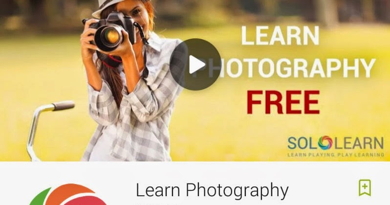 [FREE APP] [Android] Learn Photography by SoloLearn