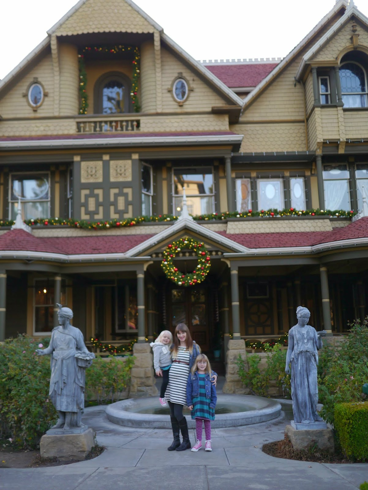 Little hiccups winchester mystery house san jose for The winchester house