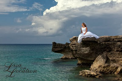 Bridal photography shoot at Smith Cove, Grand Cayman