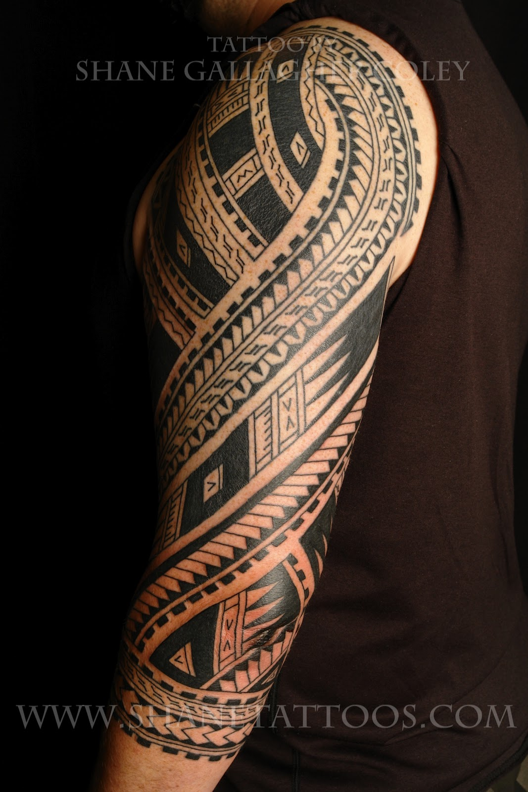 Free tattoo ideas gallery for Best polynesian tattoo artist