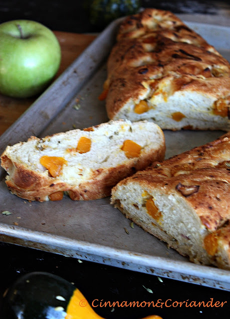 Kürbis Brot Fenchelsamen