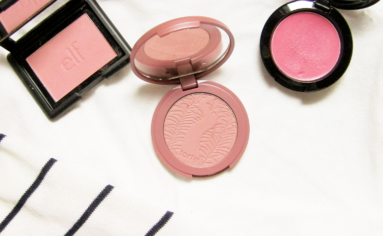 tarte amazonian clay blush exposed review swatches