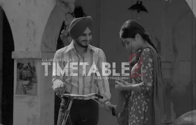 Time Table 2 LYRICS - Kulwinder Billa ਟਾਈਮ ਟੇਬਲ 2