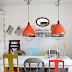 {House Tour} colorful scandinavian space
