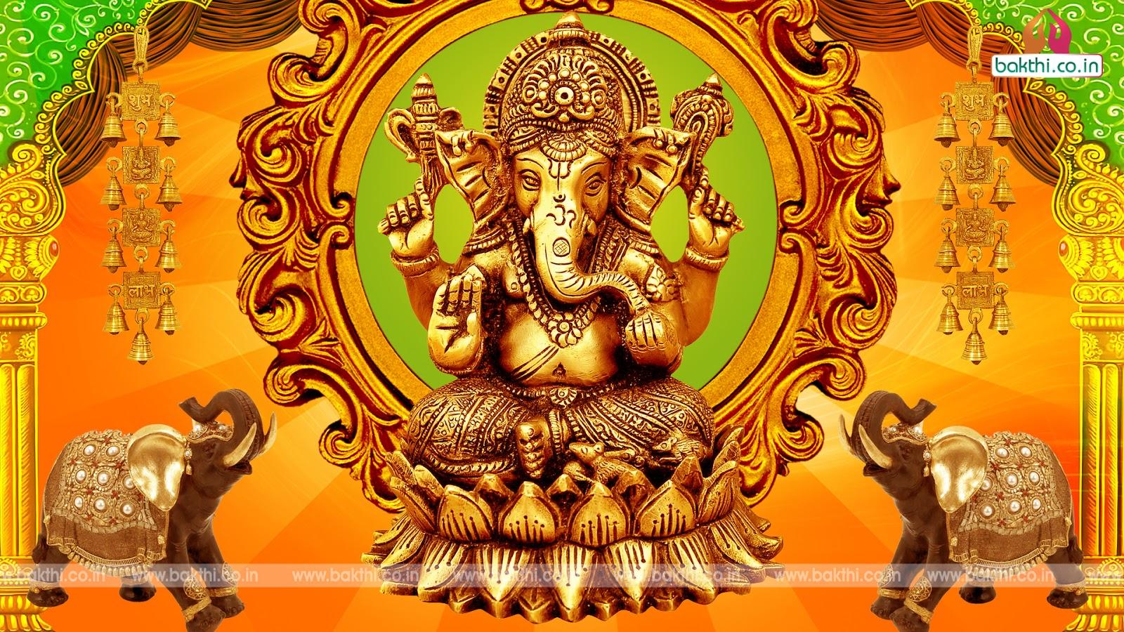 Hd wallpaper vinayagar - Vinayagar Animation Wallpaper