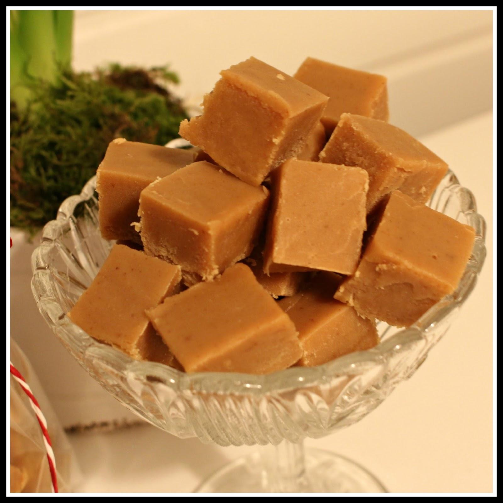 chokladfudge med kondenserad mjölk