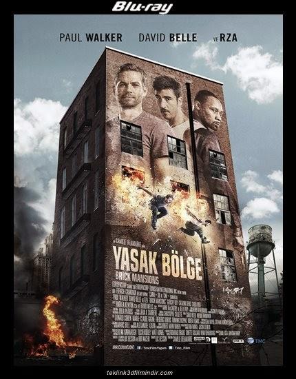 Yasak Bölge: Brick Mansions (2014) afis