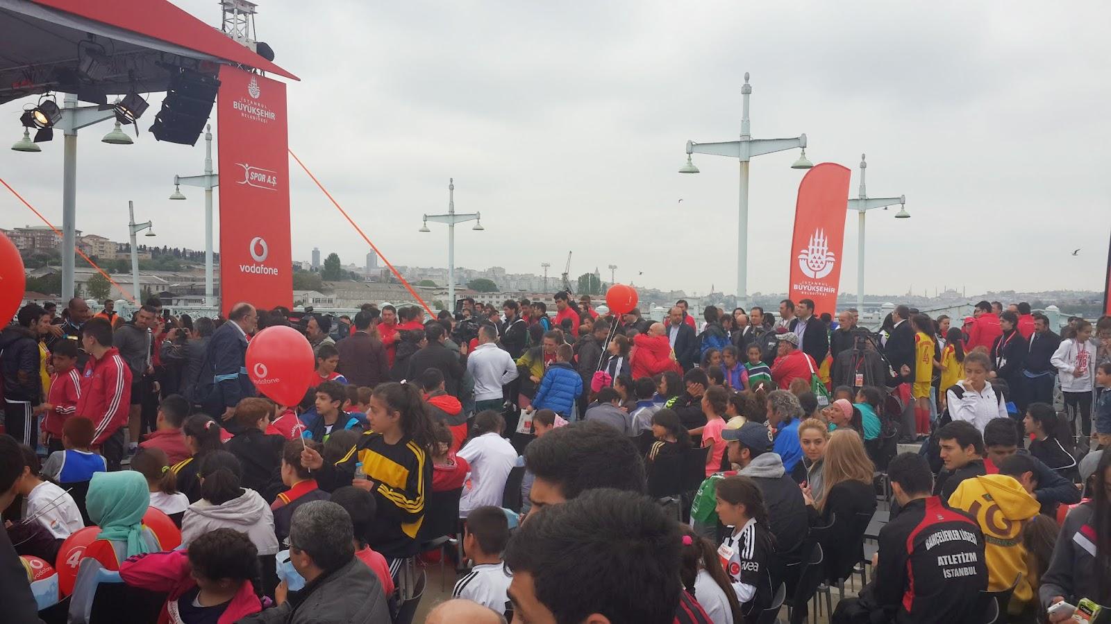 Yarı İstanbul Maratonu ödül töreni