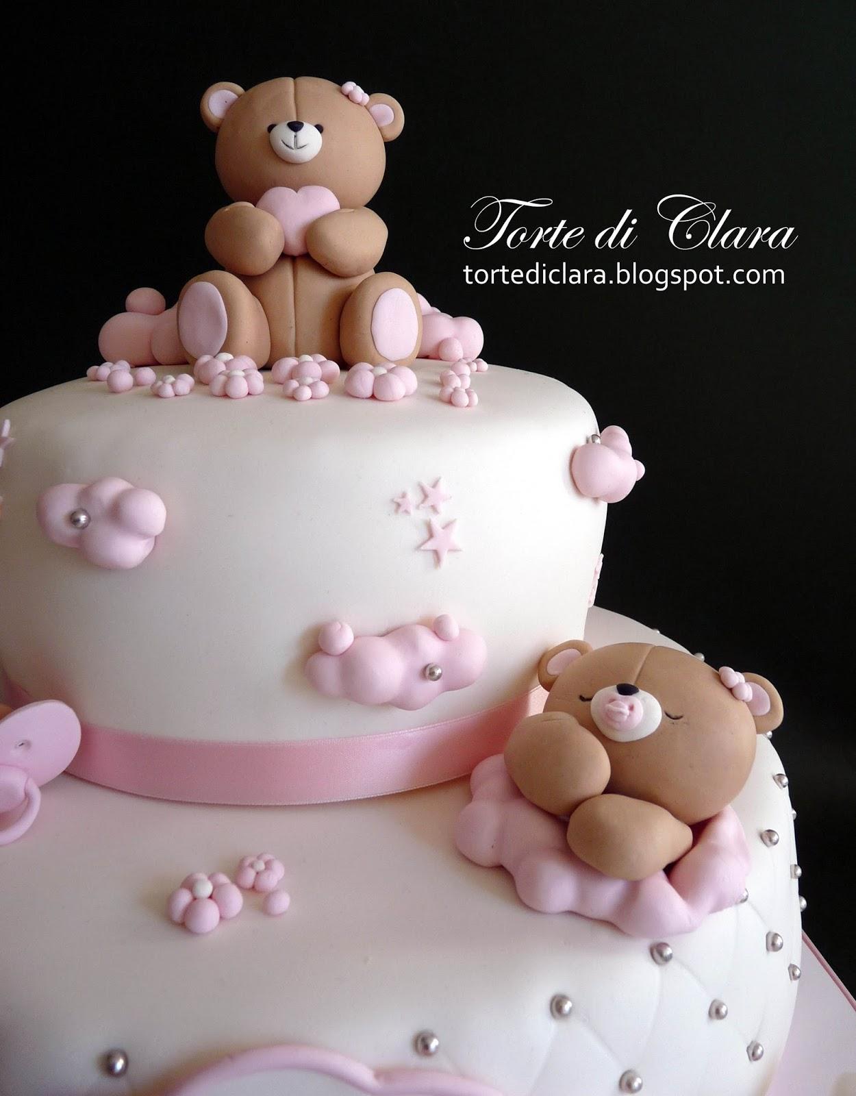 Bien connu Torte di Clara: Torta Battesimo (8) XA48