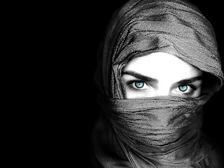 Veiled Girl wallpaper